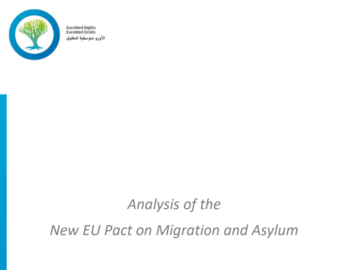 Analysis of the New EU Pact on Migration and Asylum