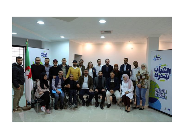'Young people take action' a new initiative gathering 20 Algerian youth organizations